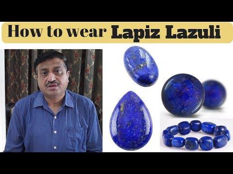 How to wear Lapiz Lazuli - Gem Selections