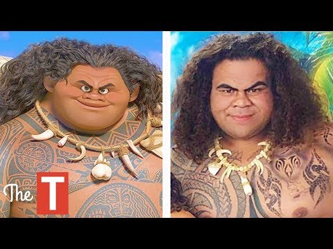 10 Moana Characters In Real Life