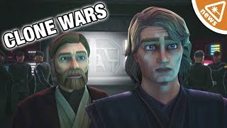 Why Star Wars Fans Are in Tears over the New Clone Wars Trailer! (Nerdist News w/ Jessica Chobot)