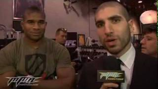 UFC 141 -  Pre-fight Interviews With Brock Lesnar, Alistair Overeem MMA - UFC