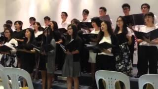TK choir - Showers of Blessing
