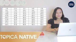 HOT - Đáp án đề thi môn Tiếng Anh kì thi THPT Quốc Gia 2019 mới nhất