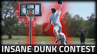 CRAZY DUNK CONTEST!