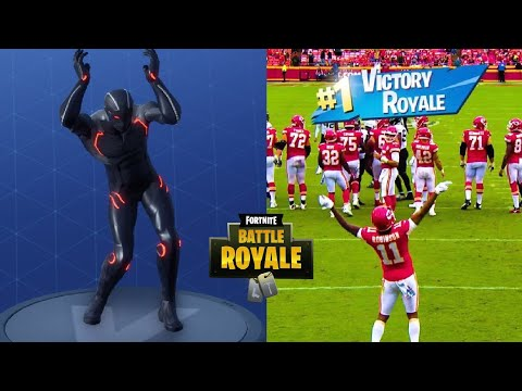 Fortnite Dances by Sport Stars in Real Life || HD