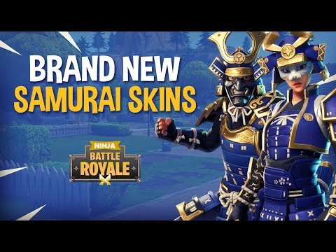 *NEW* Samurai Skins!! - Fortnite Battle Royale Gameplay - Ninja & Dr Lupo
