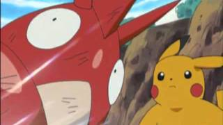 Pokemon May's Torchic Evolves into Combusken(ENGLISH)