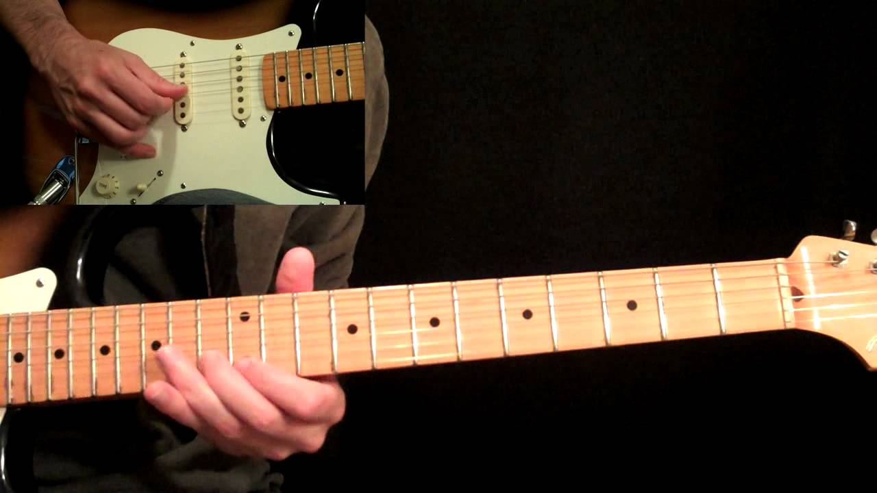 Sultans Of Swing Guitar Lesson Pt.4