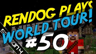 Minecraft Survival Lets Play [S4E50 SPECIAL] - ReNDoG's World Tour!