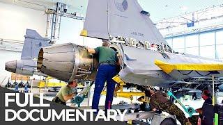 Fighter Jet: War Machine Heavy Maintenance | Mega Pit Stops | Episode 3 | Free Documentary