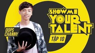 Channy hướng dẫn mọi người đọc rap   Channy   Show me your talent tập 10