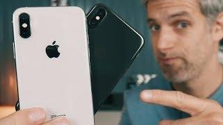 iPhone Xs VS iPhone X - 5 Différences à Connaitre Avant de l'Acheter !