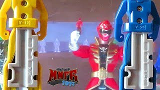 Making the Ranger Key Cave w Tiny Ranger Keys! (Power Rangers Super Megaforce)