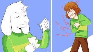 ASRIEL! Don't be mean. (Undertale Comic Dub Compilation)