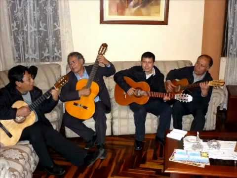 Guitarra peruana: Huaynos ancashinos en contrapunto de guitarras- Hugo Manrique y Raúl Cardoso.