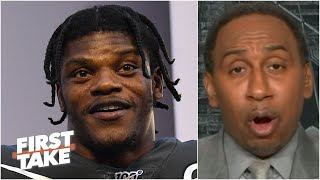 Stephen A. chooses Lamar Jackson over Brady and Mahomes as most important to his team | First Take