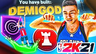 THIS DEMIGOD POINT GUARD BUILD is DOMINATING NBA 2K21!! OVERPOWERED BUILD! Best Guard Build NBA 2K21