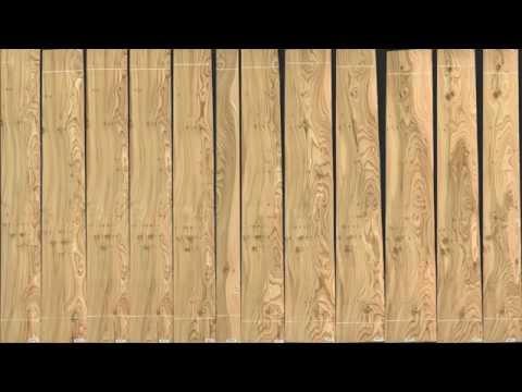 Furniere Ulme gedämpft astig | European Knotty Elm Veneer