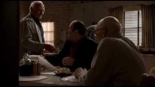 The Sopranos - Junior, Bobby And Tony Get The News