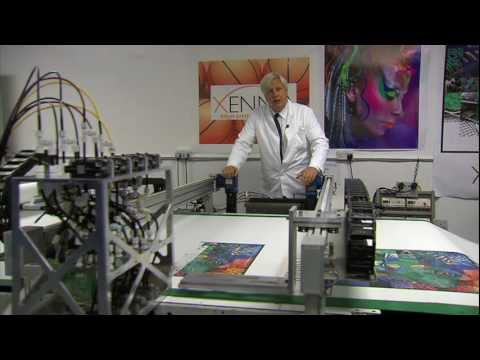 Nanotechnology in action for digital textile finishing -- Dutch TV clip