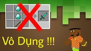 Top 7 Thứ VÔ DỤNG Nhất Trong Minecraft - Đồng Hồ Vô Dụng !!!