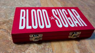 Blood Sugar Palette unboxing (in 4K)