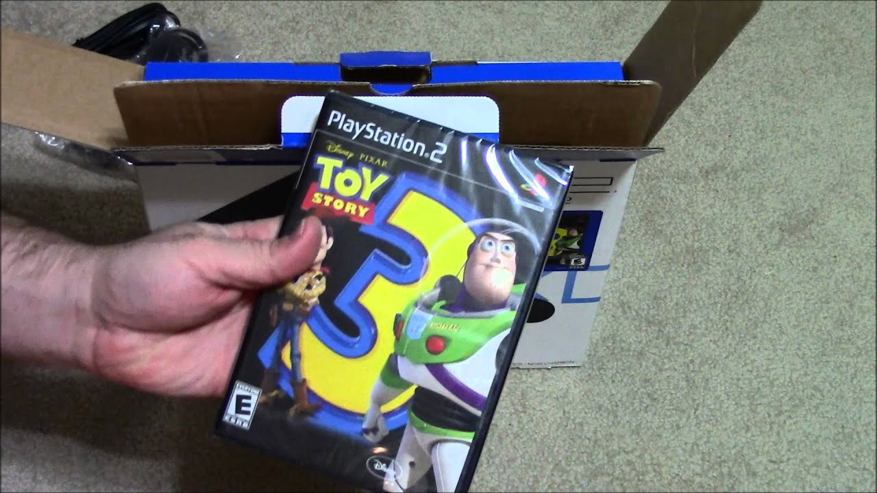 Unboxing: Sony PS2 Slimline - YouTube