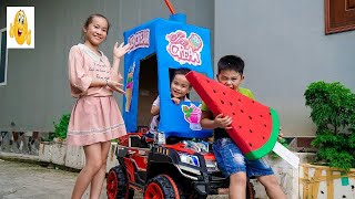 Kids Drive Ice Cream Car Repair Kids Pretend Play Song For Children Vlad IRL