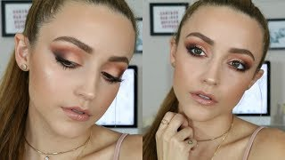 Matte Peach Smokey Eye | Makeup Tutorial