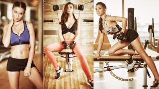 Watch: Amy Jackson GYM Workout- Exclusive video..