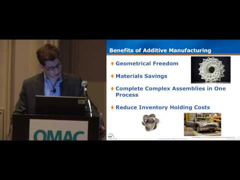 Trends in Additive Manufacturing, by ARC's Scott Evans at ARC World Forum 2013