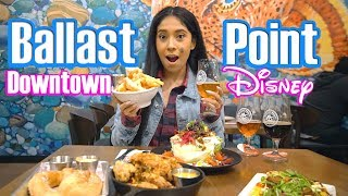 NEW! Ballast Point is Downtown Disney's Newest Restaurant and Brewery!