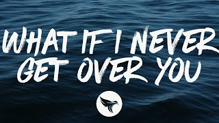 Ryan Hurd - What If I Never Get Over You (Lyrics)