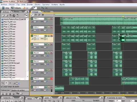 Tutorial EDITAR EN ADOBE AUDITION 3.0 voces RAP