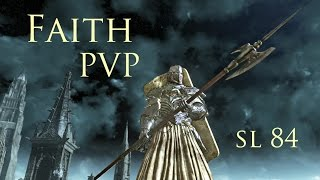 Dark Souls 3 PVP - Faith Build V1 - Halberd and Eleonora