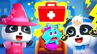 Halloween Monster Hospital   Doctor Pretend Play   Halloween Song   Halloween Cartoon   BabyBus