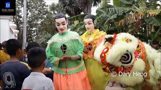 ការហែទានវស្សា 2017 | Parade Ting Mong | Khmer Religious Ceremony at village