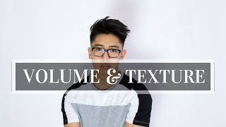 Asian Men's Hair Tutorial 2018 | High Volume Combover With Texture