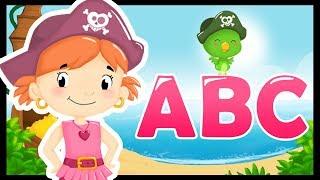L'alphabet en français et en chanson - Comptines pour apprendre avec les pirates - Titounis