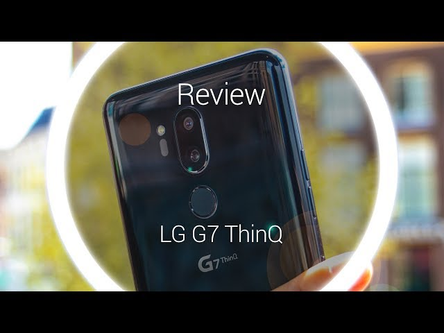 Belsimpel.nl-productvideo voor de LG G7 ThinQ