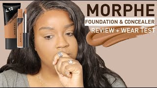 HMMM...MORPHE FOUNDATION, CONCEALER & POWDER REVIEW + WEAR TEST | itsagoldenlifestyle