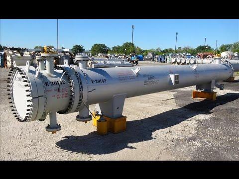 Unused- Ilsung Corporation 4 Pass U Tube Shell & Tube Heat Exchanger - stock # 48291024