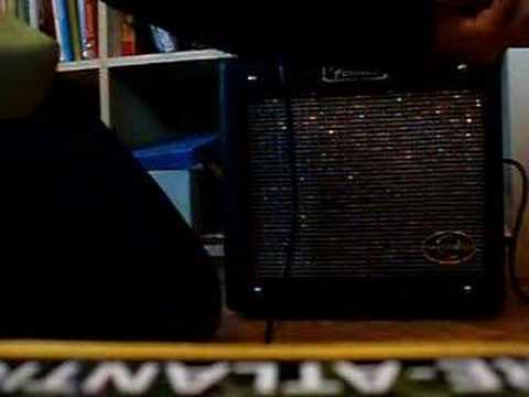 Fender G-Dec junior disto&overdrive sounds review