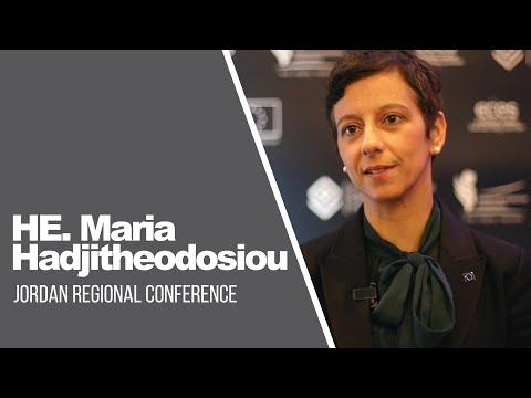 Maria Hadjitheodosiou, Ambassadrice de l'UE en Jordanie