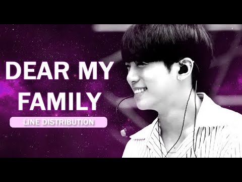 Dear My Family - SMTOWN Artist (Line Distribution)
