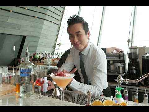 Best Bartender cocktail at Glasshouse by J. Yeung