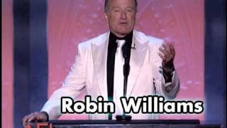 Robin Williams Salutes Mike Nichols at the AFI Life Achievement Award