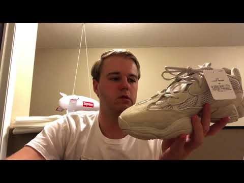 video Yeezy 500 blush