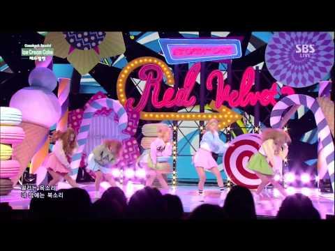 레드벨벳(Red Velvet) - Automatic + Ice Cream Cake @인기가요 Inkigayo 150322