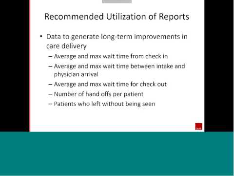 Insights Webinar - Patient Tracking Solutions