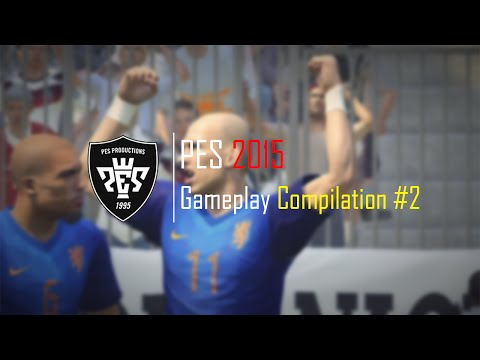 PES 2015 - Gameplay Compilation #2